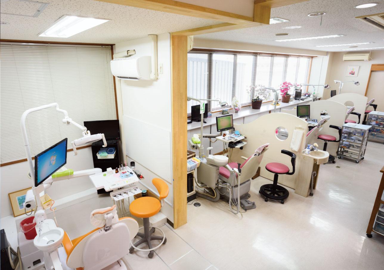 ヒロ歯科クリニックの内観